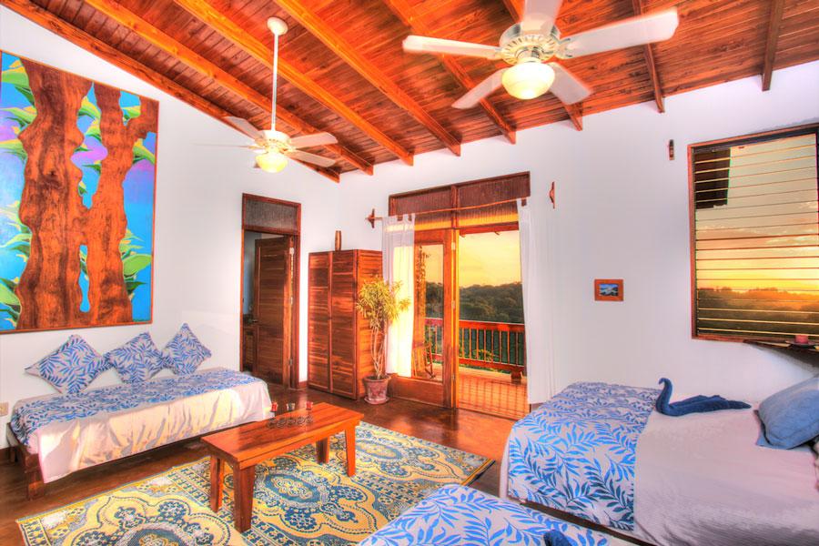 costa rica yoga spa blue room