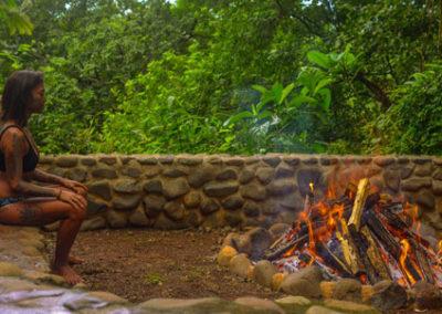 iboga retreat costa rica fire